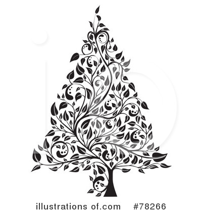 Christmas Tree Clipart #78266 by MilsiArt