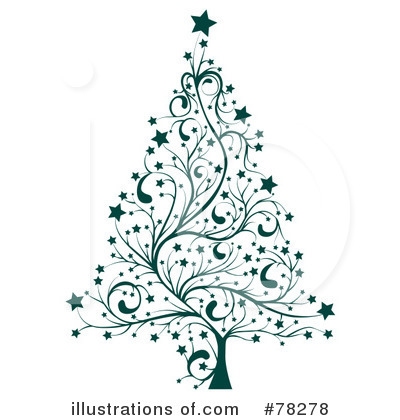 Christmas Tree Clipart #78278 by MilsiArt