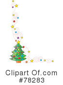 Christmas Tree Clipart #78283 by Maria Bell