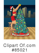 Christmas Tree Clipart #85021