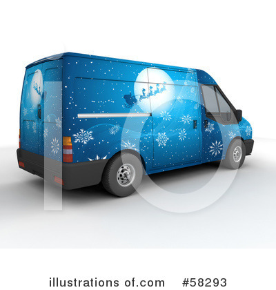 Delivery Van Clipart #58293 by KJ Pargeter
