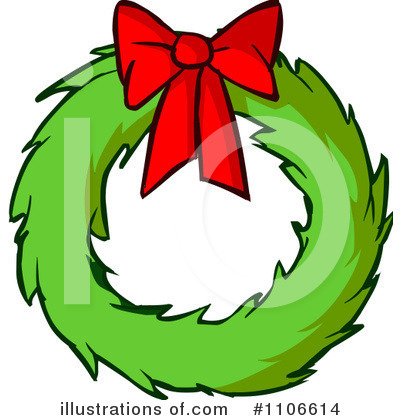 Wreath Clipart #1106614 by Cartoon Solutions
