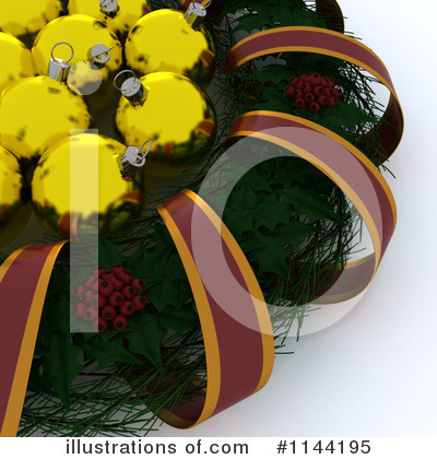 Wreath Clipart #1144195 by KJ Pargeter