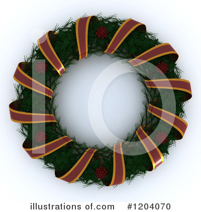 Wreath Clipart #1204070 by KJ Pargeter
