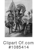 Royalty-Free (RF) Christopher Columbus Clipart Illustration #1085414