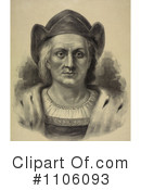 Christopher Columbus Clipart #1106093 by JVPD
