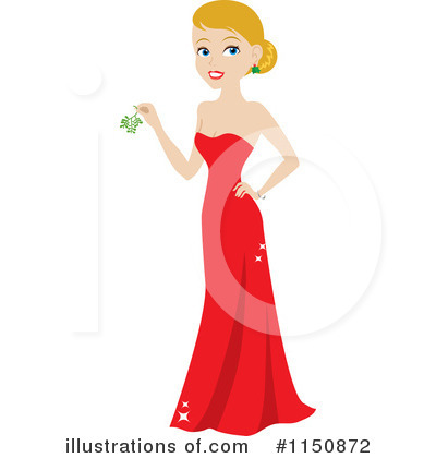 Dress Clipart #1150872 by Rosie Piter