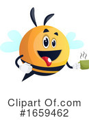 Chubby Bee Clipart #1659462 by Morphart Creations