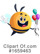 Chubby Bee Clipart #1659463 by Morphart Creations