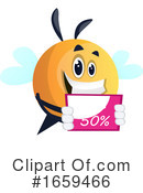 Chubby Bee Clipart #1659466 by Morphart Creations
