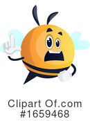 Chubby Bee Clipart #1659468 by Morphart Creations