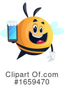 Chubby Bee Clipart #1659470 by Morphart Creations