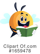 Chubby Bee Clipart #1659478 by Morphart Creations