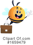 Chubby Bee Clipart #1659479 by Morphart Creations