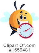 Chubby Bee Clipart #1659481 by Morphart Creations