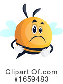 Chubby Bee Clipart #1659483 by Morphart Creations