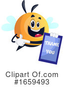 Chubby Bee Clipart #1659493 by Morphart Creations