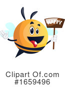 Chubby Bee Clipart #1659496 by Morphart Creations