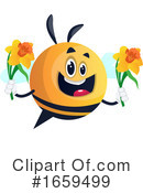 Chubby Bee Clipart #1659499 by Morphart Creations