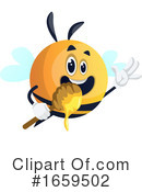 Chubby Bee Clipart #1659502 by Morphart Creations