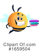 Chubby Bee Clipart #1659504 by Morphart Creations