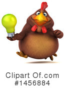 Chubby Brown Chicken Clipart #1456884 by Julos