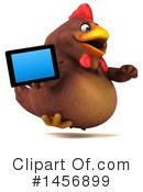 Royalty-Free (RF) Chubby Brown Chicken Clipart Illustration #1456899