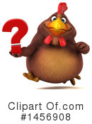 Royalty-Free (RF) Chubby Brown Chicken Clipart Illustration #1456908