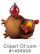 Royalty-Free (RF) Chubby Brown Chicken Clipart Illustration #1456909