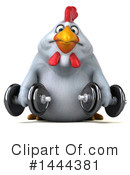 Chubby Chicken Clipart #1444381 by Julos