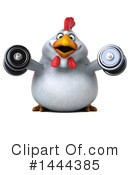 Chubby Chicken Clipart #1444385 by Julos