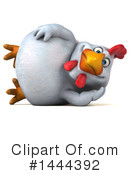 Chubby Chicken Clipart #1444392 by Julos