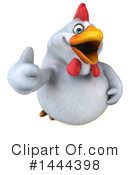 Chubby Chicken Clipart #1444398 by Julos
