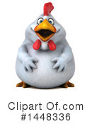 Chubby Chicken Clipart #1448336 by Julos