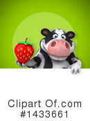 Chubby Cow Clipart #1433661 by Julos