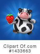 Chubby Cow Clipart #1433663 by Julos