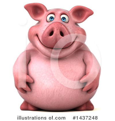 Pig Clipart #1437248 by Julos