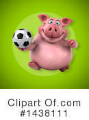 Chubby Pig Clipart #1438111 by Julos