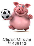 Chubby Pig Clipart #1438112 by Julos