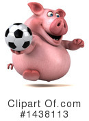 Chubby Pig Clipart #1438113 by Julos