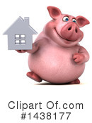 Chubby Pig Clipart #1438177 by Julos