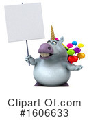 Chubby Unicorn Clipart #1606633 by Julos