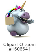 Chubby Unicorn Clipart #1606641 by Julos