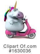 Chubby Unicorn Clipart #1630036 by Julos