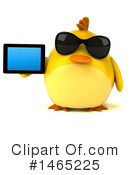 Chubby Yellow Bird Clipart #1465225 by Julos
