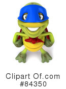 Royalty-Free (RF) Chuck Tortoise Clipart Illustration #84350