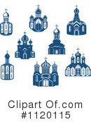 Royalty-Free (RF) Church Clipart Illustration #1120115