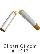 Cigarette Clipart #11913 by AtStockIllustration