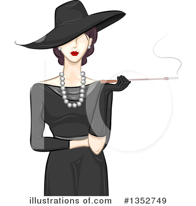 Smoking Clipart #1352749 by BNP Design Studio