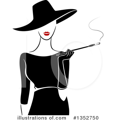 Smoking Clipart #1352750 by BNP Design Studio